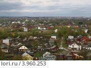 Купить «Деревня», фото № 3960253, снято 29 апреля 2012 г. (c) Кузьминов Юрий Юрьевич / Фотобанк Лори