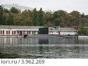 Купить «Подводная лодка в Севастополе», фото № 3962269, снято 19 октября 2012 г. (c) Робул Дмитрий / Фотобанк Лори