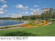Купить «Гольяновский пруд летом, Москва», эксклюзивное фото № 3962977, снято 23 июля 2012 г. (c) lana1501 / Фотобанк Лори