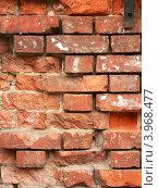 Купить «Фрагмент стены старого дома», эксклюзивное фото № 3968477, снято 21 августа 2012 г. (c) Михаил Карташов / Фотобанк Лори