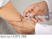 Купить «Инъекция», фото № 3971789, снято 22 июля 2012 г. (c) Gagara / Фотобанк Лори