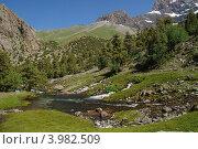 Купить «Памир. Горная река», фото № 3982509, снято 12 июля 2012 г. (c) Сергей Бойков / Фотобанк Лори