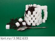 Купить «Чай с сахаром», фото № 3982633, снято 2 ноября 2012 г. (c) Екатерина Панфилова / Фотобанк Лори
