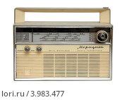 Старое советское радио (2012 год). Редакционное фото, фотограф Михаил Коханчиков / Фотобанк Лори