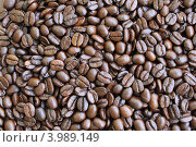 Купить «Зёрна кофе», фото № 3989149, снято 25 мая 2012 г. (c) Александр Литовченко / Фотобанк Лори