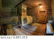 Купить «Интерьер русской бани», фото № 3991313, снято 17 июля 2012 г. (c) FotograFF / Фотобанк Лори