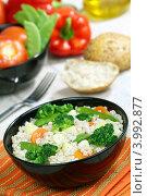 Купить «Перловка с овощами», фото № 3992877, снято 6 ноября 2012 г. (c) Надежда Мишкова / Фотобанк Лори