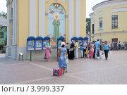 Купить «Покровский ставропигиальный женский монастырь у Покровской заставы в Москве», эксклюзивное фото № 3999337, снято 25 июля 2012 г. (c) stargal / Фотобанк Лори