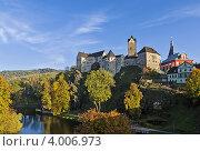 Замок Локет, Чехия (2012 год). Стоковое фото, фотограф Boris Breytman / Фотобанк Лори