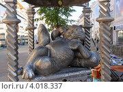 Памятник Коту Казанскому в Казани, фото № 4018337, снято 2 сентября 2012 г. (c) Владимир Горощенко / Фотобанк Лори