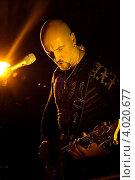 Купить «Гитарист Христо Кирилов», эксклюзивное фото № 4020677, снято 13 октября 2012 г. (c) Андрей Дегтярёв / Фотобанк Лори