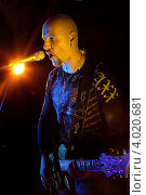 Купить «Гитарист Христо Кирилов», эксклюзивное фото № 4020681, снято 13 октября 2012 г. (c) Андрей Дегтярёв / Фотобанк Лори