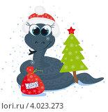 Купить «Открытка к Новому году», иллюстрация № 4023273 (c) Tati@art / Фотобанк Лори