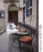 Уличное кафе в Сан-Марино, Италия. Редакционное фото, фотограф Николаева Наталья / Фотобанк Лори