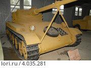 Купить «Французский танк АМХ-13 в музее бронетехники в Кубинке», фото № 4035281, снято 9 сентября 2007 г. (c) Малышев Андрей / Фотобанк Лори