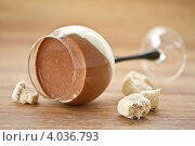 Купить «Молочно-шоколадное желе», фото № 4036793, снято 20 ноября 2012 г. (c) Peredniankina / Фотобанк Лори