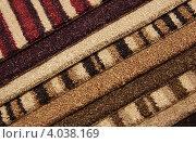 Образцы коврового покрытия. Стоковое фото, фотограф Галина Афанасьева / Фотобанк Лори