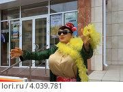 Купить «Верка-сердючка в городе Курган. Восковая фигура», эксклюзивное фото № 4039781, снято 16 августа 2012 г. (c) Анатолий Матвейчук / Фотобанк Лори