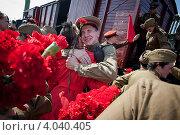 День Победы 9 мая 2012 года. Редакционное фото, фотограф Сергей Калинкин / Фотобанк Лори
