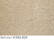 Купить «Текстура холщовой ткани», фото № 4042829, снято 31 октября 2012 г. (c) Олег Селезнев / Фотобанк Лори
