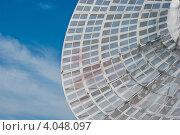 Купить «Антенна радиотелескопа Пулковской обсерватории», фото № 4048097, снято 16 августа 2018 г. (c) Александр Чернышёв / Фотобанк Лори