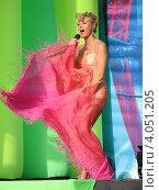 Полина Гагарина (2009 год). Редакционное фото, фотограф Юлия Ротанина / Фотобанк Лори