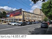 Купить «Николоямская улица, 29. Москва», эксклюзивное фото № 4051417, снято 23 июля 2012 г. (c) lana1501 / Фотобанк Лори