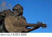 Купить «Памятник Виктору Цою в городе Барнауле», фото № 4051809, снято 23 октября 2011 г. (c) Александр Литовченко / Фотобанк Лори