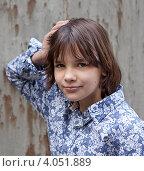 Портрет озорной девчонки. Стоковое фото, фотограф Кравченко Юлия / Фотобанк Лори