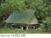 Домик в лесу (2010 год). Редакционное фото, фотограф Овчинникова Татьяна / Фотобанк Лори