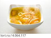Купить «Суп куриный», фото № 4064117, снято 20 ноября 2012 г. (c) Виталий Суровый / Фотобанк Лори