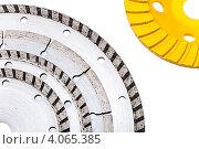 Алмазные диски для резки бетона. Стоковое фото, фотограф Куликов Константин / Фотобанк Лори