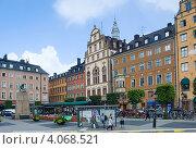 Купить «Стокгольм. Городской пейзаж», эксклюзивное фото № 4068521, снято 10 августа 2012 г. (c) Александр Щепин / Фотобанк Лори