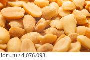 Купить «Фон из орехов Арахис», эксклюзивное фото № 4076093, снято 1 декабря 2012 г. (c) Литвяк Игорь / Фотобанк Лори