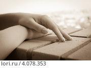 Женские руки. Стоковое фото, фотограф Михаил Бессмертный / Фотобанк Лори