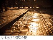 Каменная брусчатка. Стоковое фото, фотограф Loboda Dmitriy / Фотобанк Лори