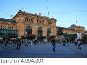 Купить «Главный железнодорожный вокзал Ганновера», фото № 4094001, снято 7 сентября 2009 г. (c) Борис Кунин / Фотобанк Лори