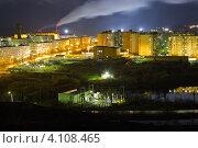Город Заполярный. Мурманская область (2012 год). Стоковое фото, фотограф Егор Богданов / Фотобанк Лори