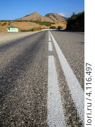 Купить «Дагестан. Дорога Махачкала - Буйнакск - Гуниб (р275).», эксклюзивное фото № 4116497, снято 25 сентября 2010 г. (c) A Челмодеев / Фотобанк Лори