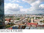 Купить «Екатеринбург. Облака над городом.», фото № 4116689, снято 26 июня 2019 г. (c) Анна Омельченко / Фотобанк Лори