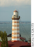 Купить «Махачкала, Дагестан. Вид на маяк и море», фото № 4124173, снято 28 октября 2008 г. (c) Виктор Затолокин/Victor Zatolokin / Фотобанк Лори