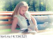Девушка. Стоковое фото, фотограф Конушкина Екатерина / Фотобанк Лори