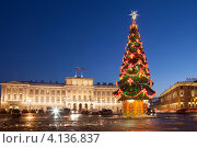 Купить «Санкт-Петербург. Мариинский дворец», эксклюзивное фото № 4136837, снято 21 декабря 2012 г. (c) Литвяк Игорь / Фотобанк Лори
