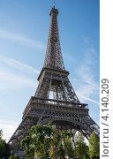 Купить «Франция. Символ Парижа – Эйфелева башня», фото № 4140209, снято 31 июля 2012 г. (c) Олег Тыщенко / Фотобанк Лори