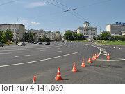 Купить «Боровицкая площадь, Москва», эксклюзивное фото № 4141069, снято 20 мая 2012 г. (c) lana1501 / Фотобанк Лори