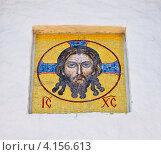 Иисус, фреска. Стоковое фото, фотограф Александр Казаков / Фотобанк Лори