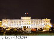 Купить «Санкт-Петербург, Мариинский дворец, вечер», фото № 4163397, снято 24 декабря 2012 г. (c) ИВА Афонская / Фотобанк Лори
