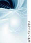 Купить «Абстрактный серо-синий фон с местом для текста», иллюстрация № 4163913 (c) ElenArt / Фотобанк Лори