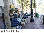 Шахматисты Сан-Франциско (2012 год). Редакционное фото, фотограф Роза Ибрагимова / Фотобанк Лори