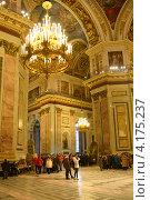 Купить «Исаакиевский собор. Санкт-Петербург», эксклюзивное фото № 4175237, снято 7 января 2013 г. (c) Александр Алексеев / Фотобанк Лори